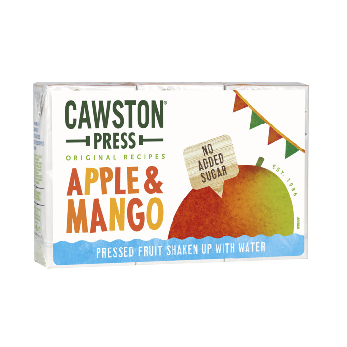 Een afbeelding van Cawston Press Kids blend apple mango fruit
