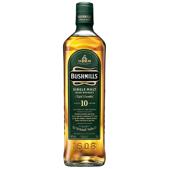 Een afbeelding van Bushmills Single Malt 10 Years Old