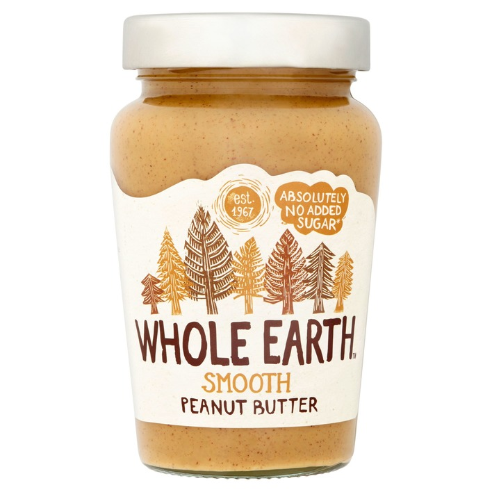 Een afbeelding van Whole Earth Original smooth peanutbutter
