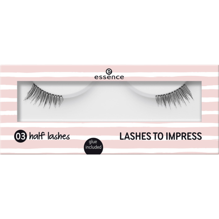 Een afbeelding van Essence Lashes to impress 03 half lashes