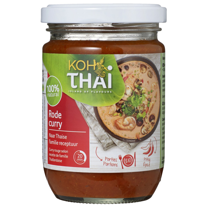 Een afbeelding van Koh Thai Red curry paste