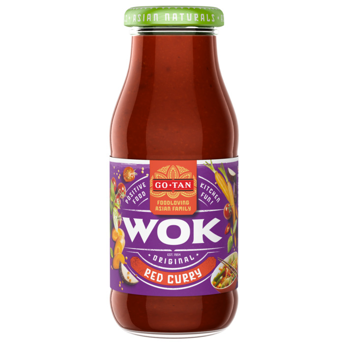 Een afbeelding van Go-Tan Original wok red curry