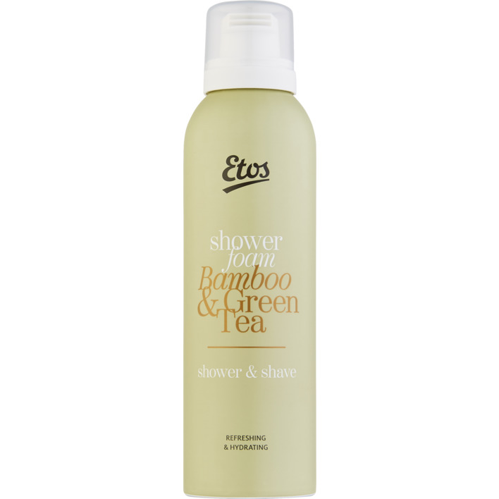 Een afbeelding van Etos Green tea & bamboo 2-in-1 showerfoam
