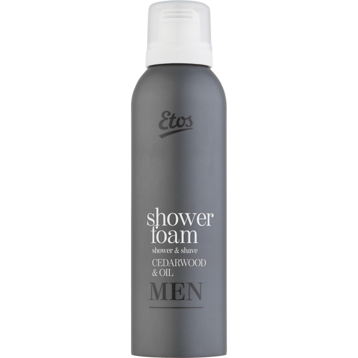 Een afbeelding van Etos Men cedarwood & oil 2-in-1 showerfoam