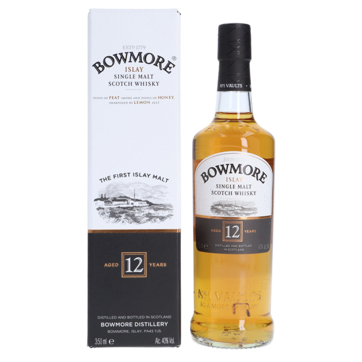 Een afbeelding van Bowmore Single malt Scotch whisky 12 years