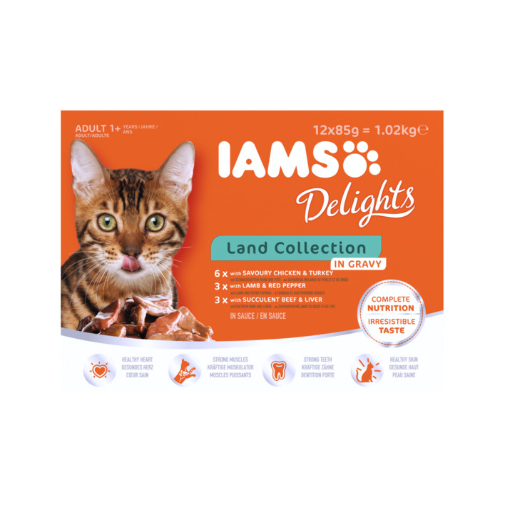 Een afbeelding van IAMS Delights land collection