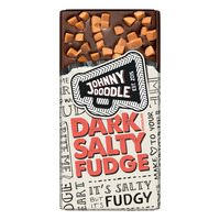 Johnny Doodle Dark salty fudge