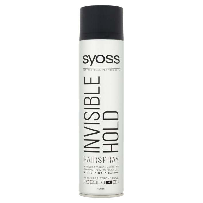 Een afbeelding van Syoss Styling hairspray invisible hold