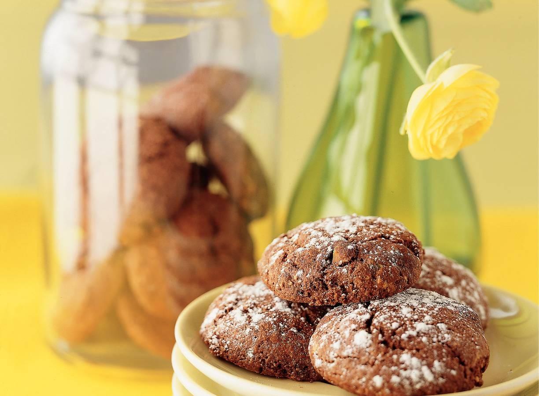 Chocolade-pistachebiscotti