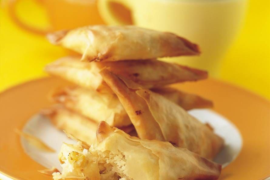Kokos-samosa's