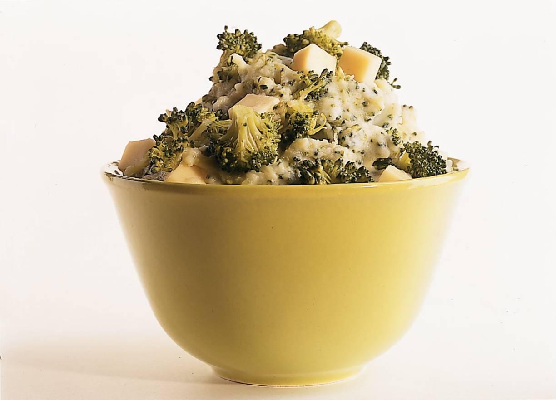 Broccolistamppotje met kaas
