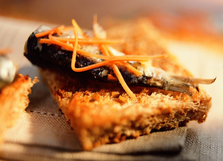 Sardines in Spaanse marinade