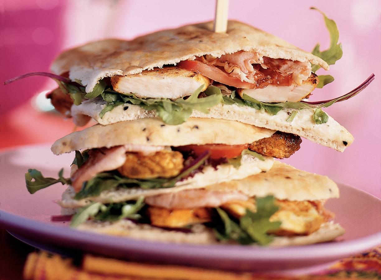 Super naansandwich