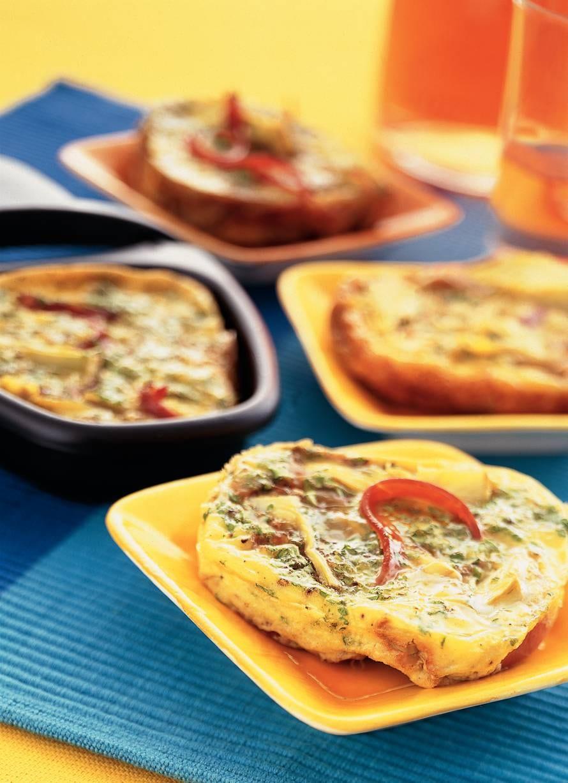 Spaanse tortilla met artisjokharten