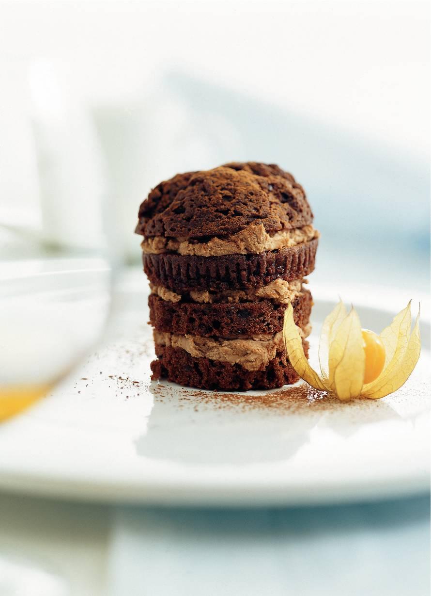 Pure-chocolademuffins met cognac
