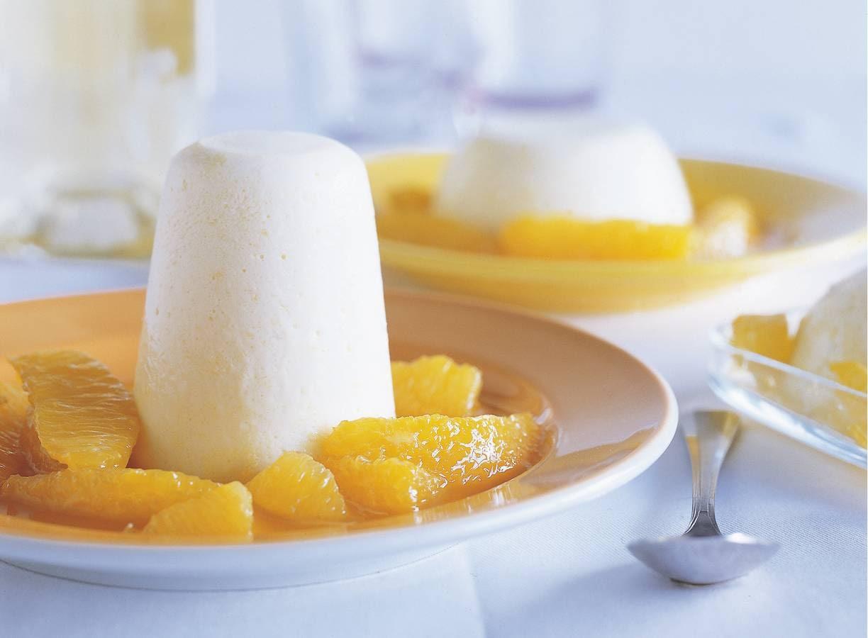 Luchtige sinaasappelpuddinkjes