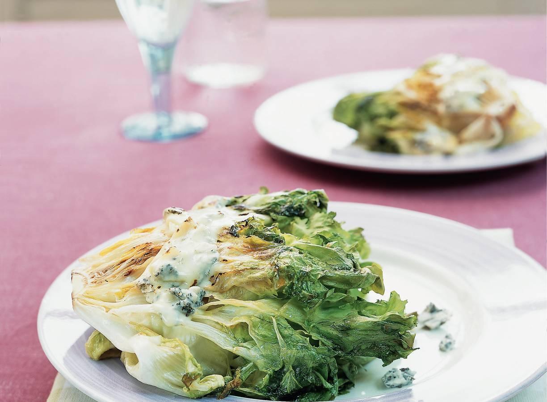 Andijvie met gorgonzola