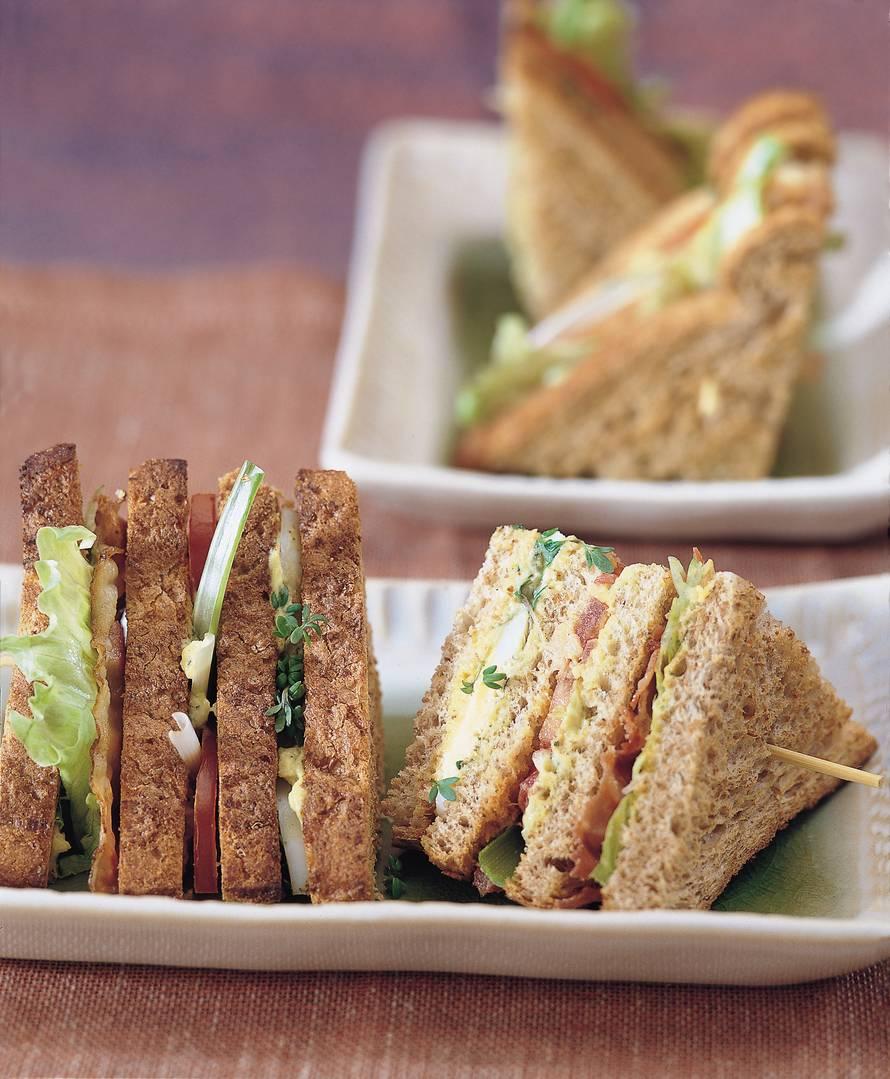 Guacamole clubsandwich