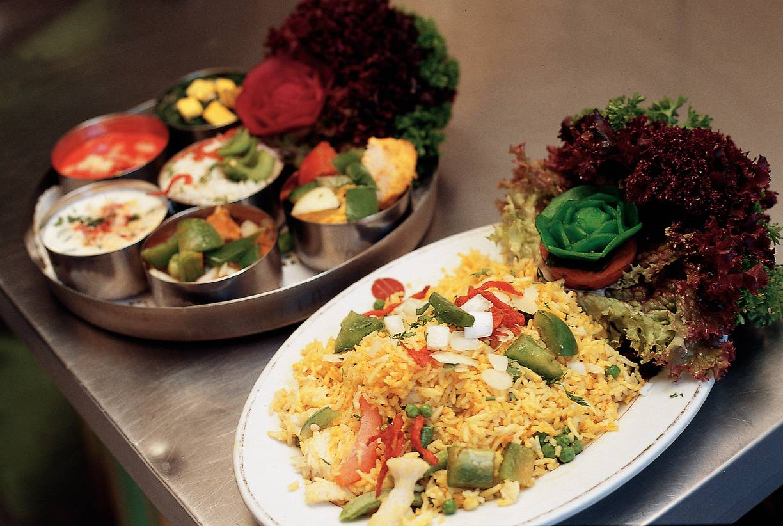 Biryani met gemengde groenten