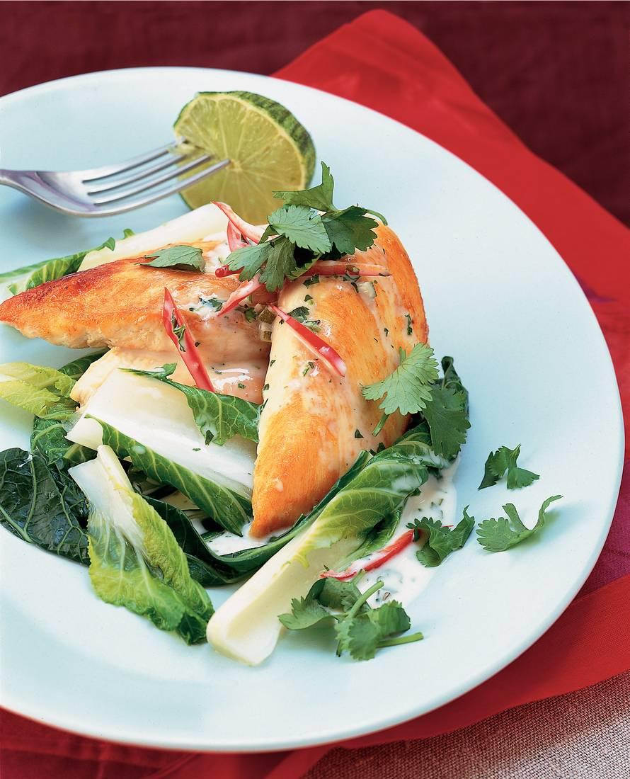 Kipfilet met Thaise groene curry