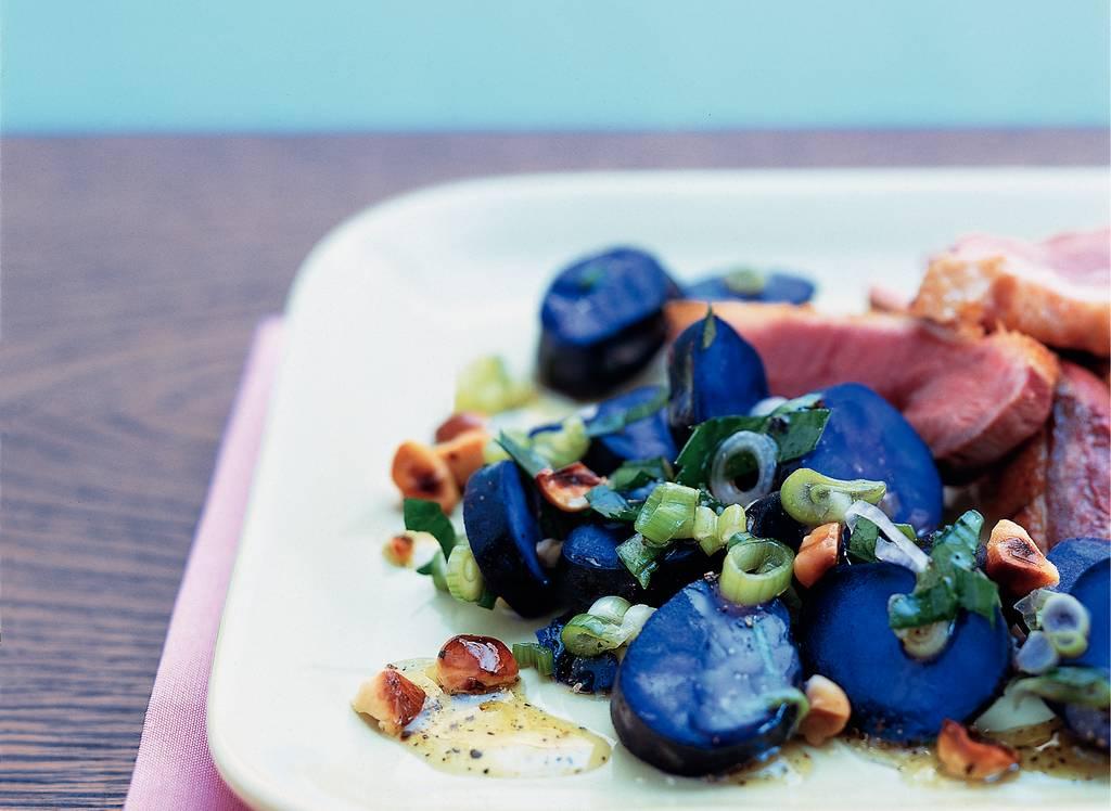 Lauwwarme aardappelsalade met truffelvinaigrette - Albert Heijn