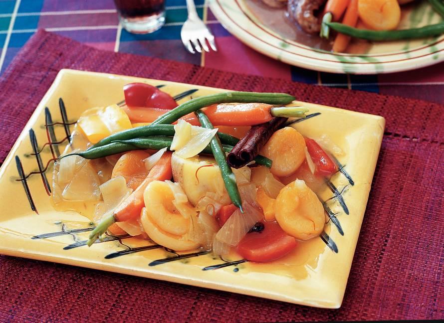 Aardappel-groentetajine