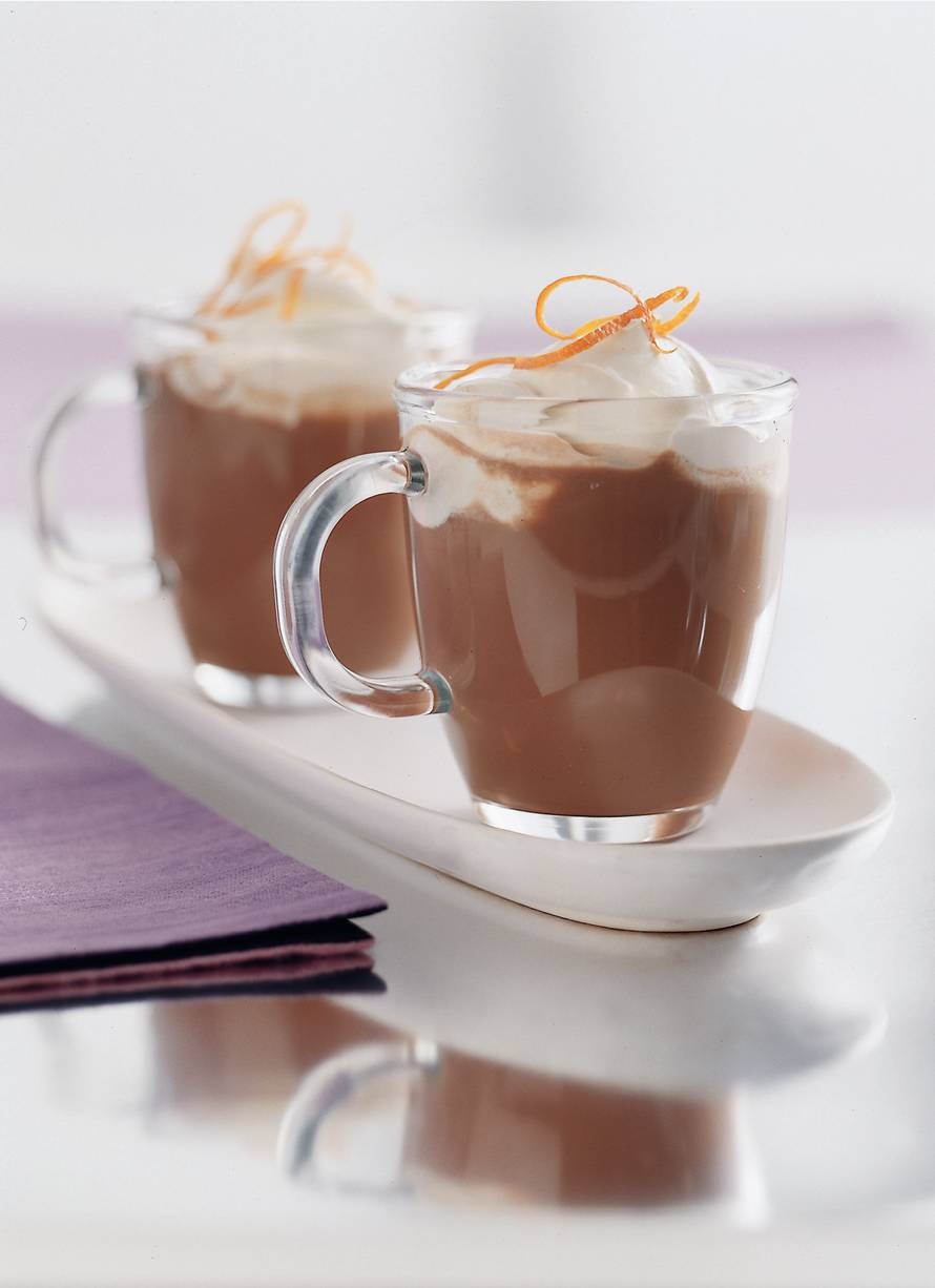 Schuimige choco-espresso