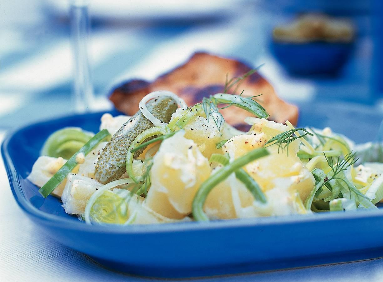 Aardappelsalade met dille