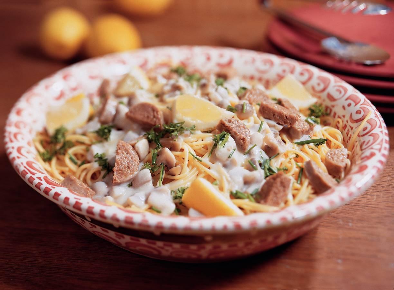Spaghetti limone