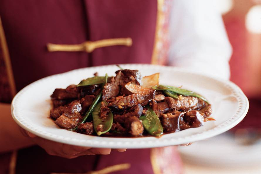 ossenhaas uit de wok - recept - allerhande - albert heijn