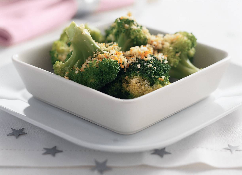 Broccoli met sinaasappelkruim