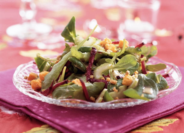 Knapperige rucolasalade