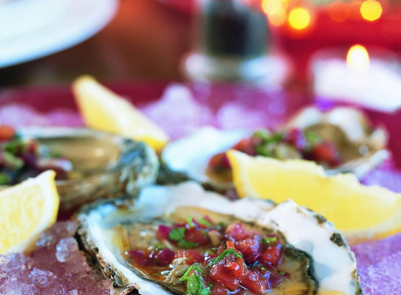 Trio van oesters