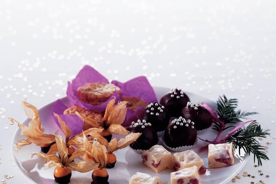 Witte-chocoladekersentruffels