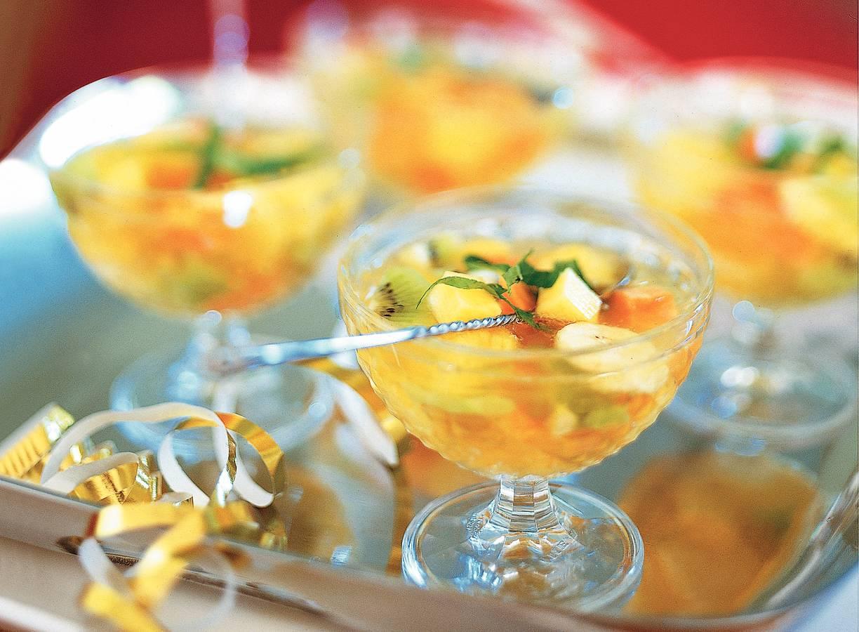 Exotische vruchtenbowl