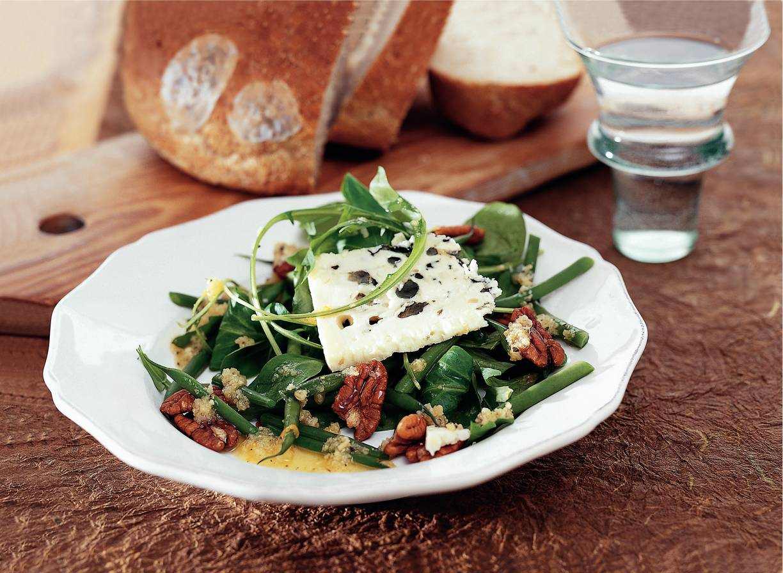 Lunchsalade met roquefort