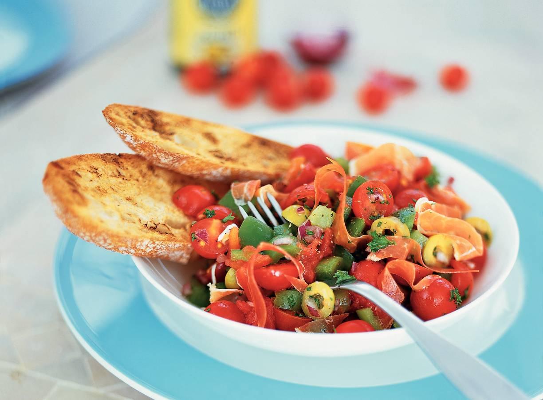 Spaanse tomaatjessalade