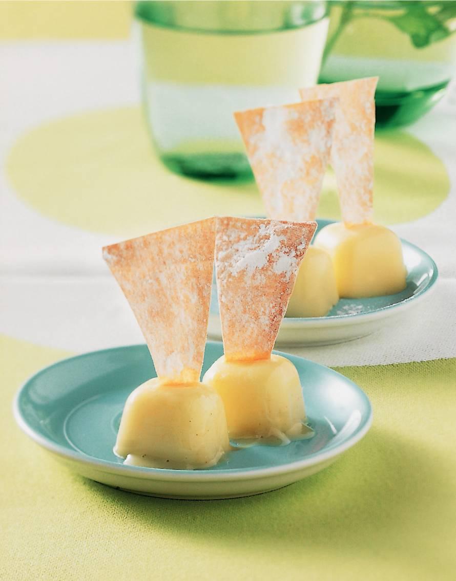 Semifreddo van yoghurt en limoen