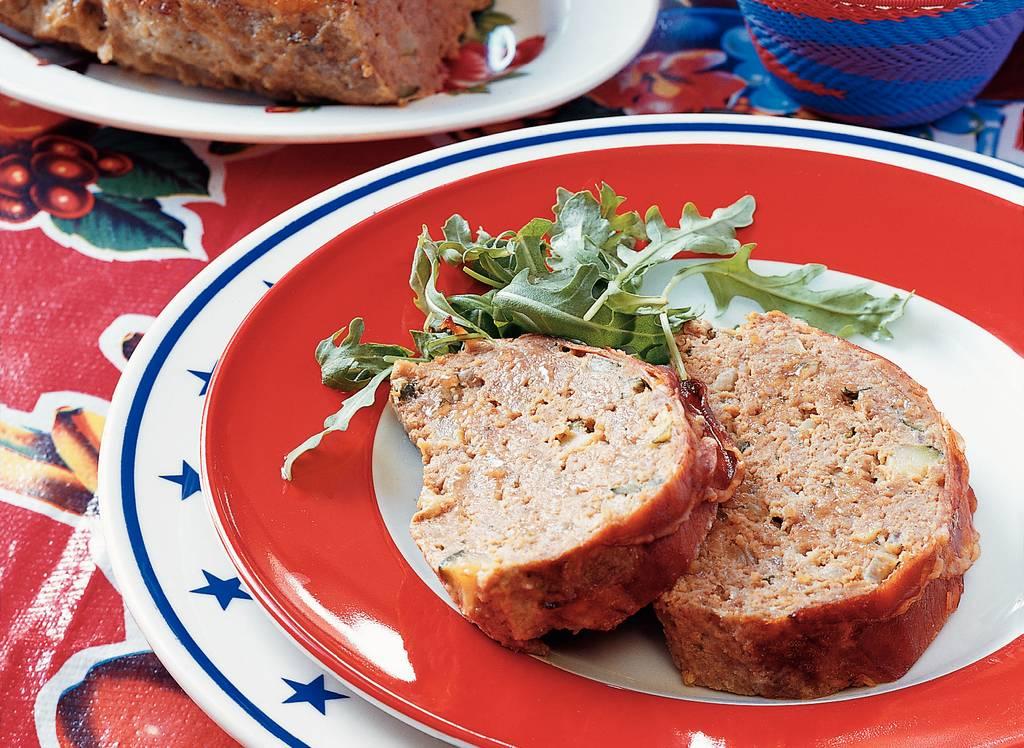 Gehaktbrood met mosterdmayonaise - Albert Heijn