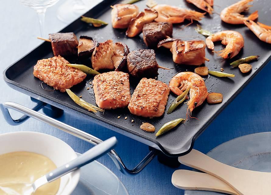 Teppanyaki mixed grill