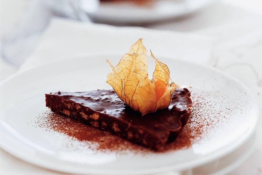 Chocoladepuntjes met Kaapse goudbes