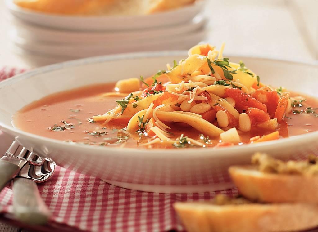 Witte-bonensoep met pasta - Albert Heijn