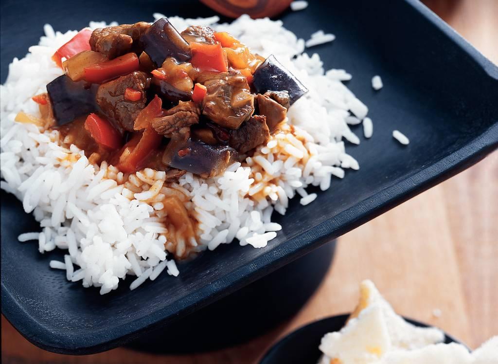 Smoor van rundvlees en aubergine - Albert Heijn