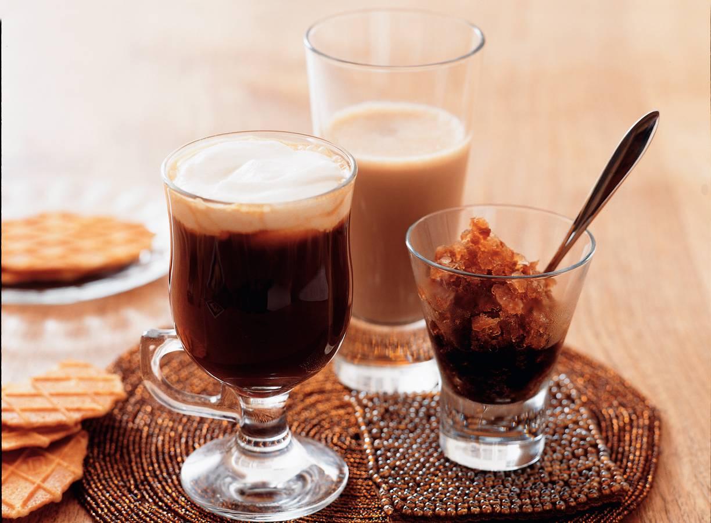 Koken met koffie: Irish coffee, Koffiegranita en Mokkamelk