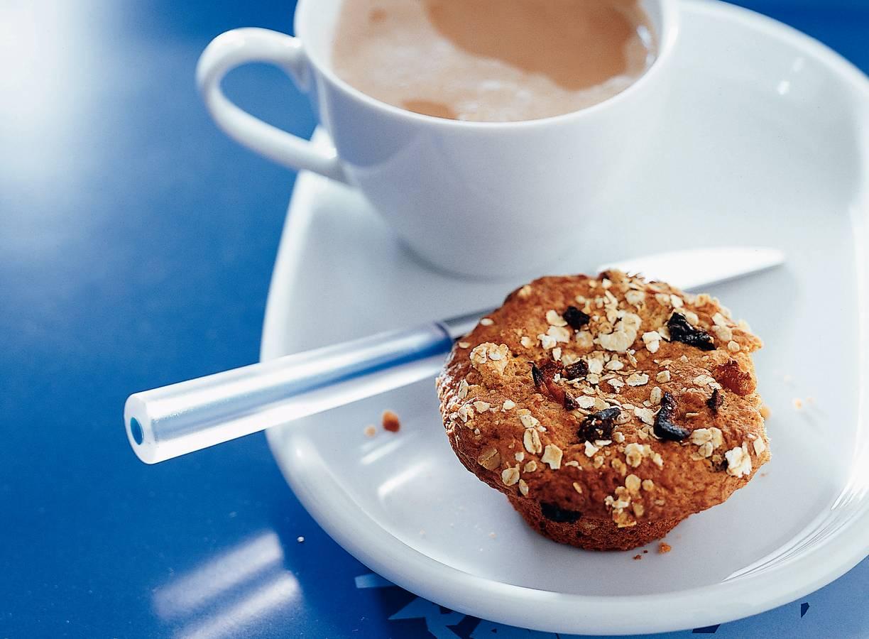 Volkoren tuttifrutti-muffins