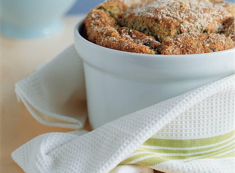 Spinaziesoufflé met ansjovis
