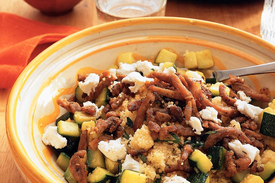 Gyros met couscous