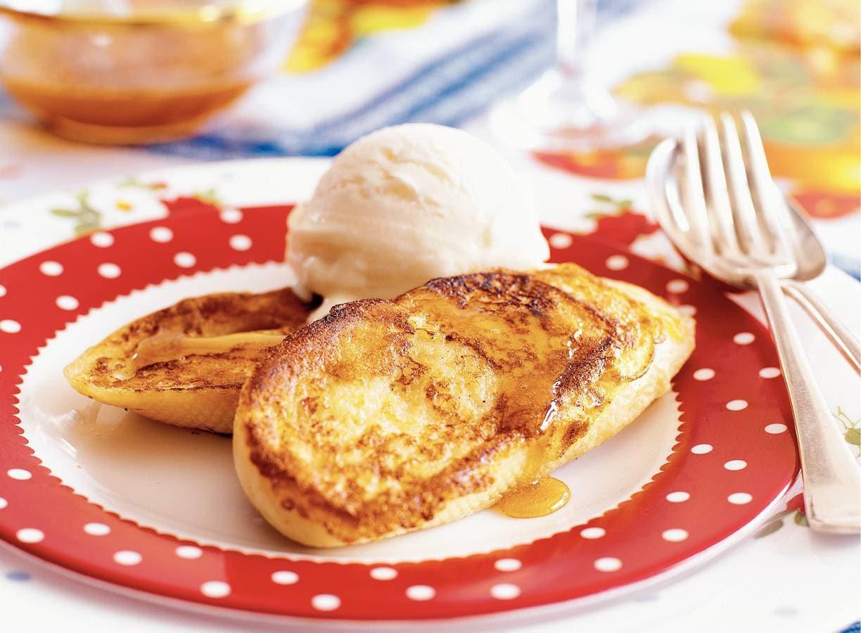 Torrijas - Wentelteefjes met honing