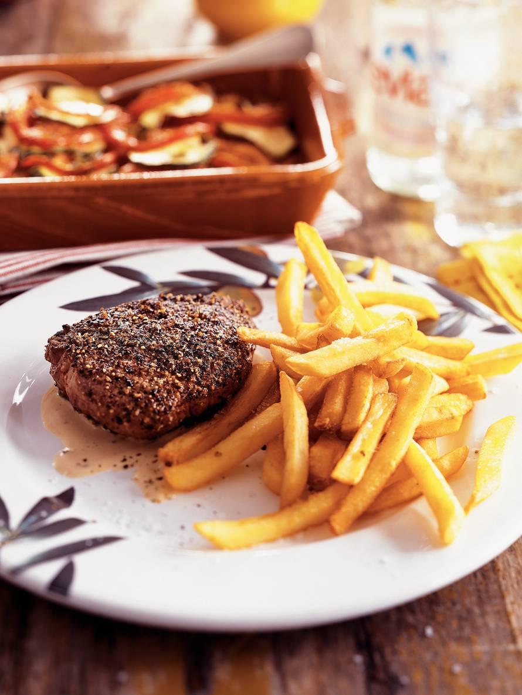 Steak au poivre - Biefstuk met peper