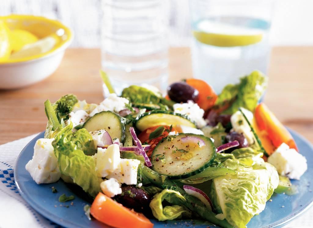 Saláta choriátiki - Traditionele Griekse  boerensalade - Albert Heijn